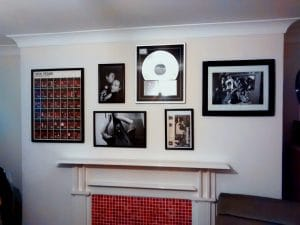 Giving the fireplace the David Lynch makeover - Kemptown, East Brighton.