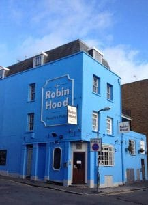 The Robin Hood, a non-profit pub in Hove that supports the local community